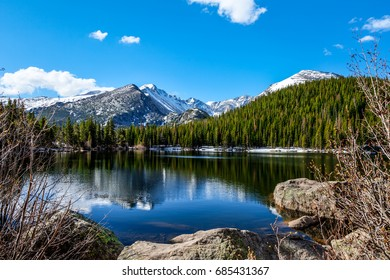 Bear Lake in the Rocky Mountain National Park in Colorado, is one of the most beautiful lakes in the entire park.