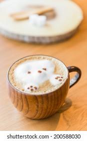 Bear Latte coffee