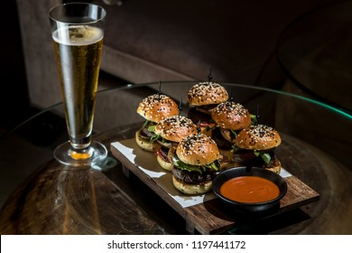Bear and little hamburger series
