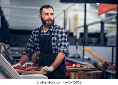 bearded meat beater