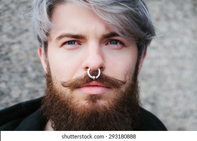 Nose Rings Images Stock Photos Vectors Shutterstock