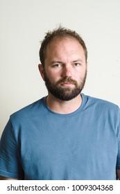 Bearded Man Headshot Portrait