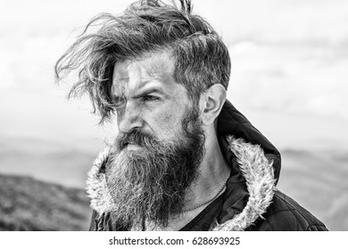 Astonishing Bearded Mountain Man Images Stock Photos Vectors Shutterstock Schematic Wiring Diagrams Amerangerunnerswayorg