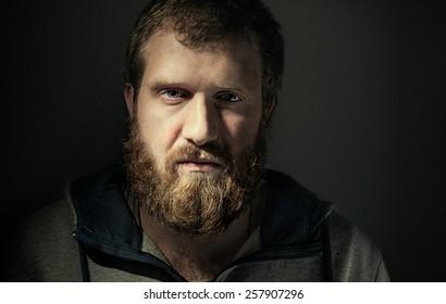bearded man, serious, portrait, Lambersexualci, lambersexual, lumberjacks