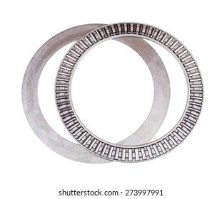 Bearing for industry on the white background