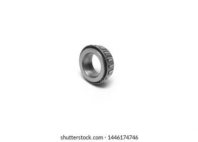 Bearing. Bearing on a white background. metal bearing.