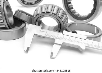 bearings measuring device diameters tool isolated on white background