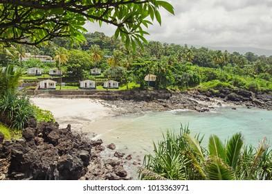 Beatiful bay in Moroni, Comoros