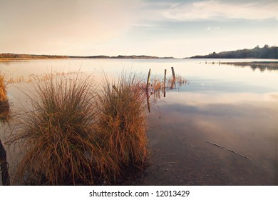 beatiful calm morning on shores of Lough Erne, Co.Fermanagh, N.ireland