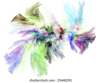Beatiful color fractal