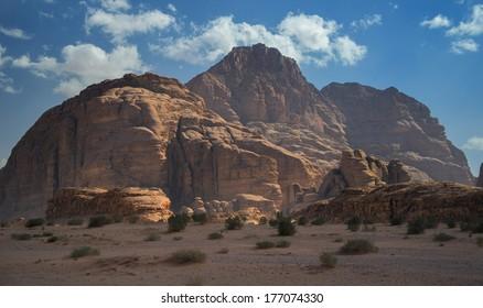 Beatiful Jordan desert