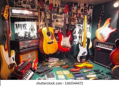 The Beatles Story ,Liverpool ,England ,1 Jan 2014