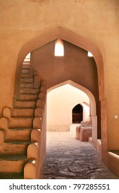Beatutiful entry to Nizwa Fort, one of the oldest forts in Oman