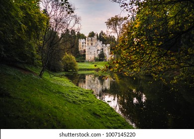 The Beaufort castle in the north of Luxembourg