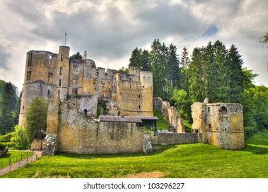 Beaufort castle ruins, Luxembourg