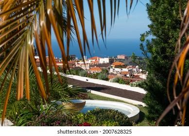 Beauiful garden in La Orotava - Jardines del Marquesado de la Quinta Roja, Tenerife, Canary Islands, Spain