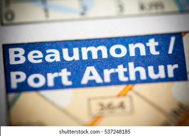 Beaumont / Port Arthur. Texas. USA
