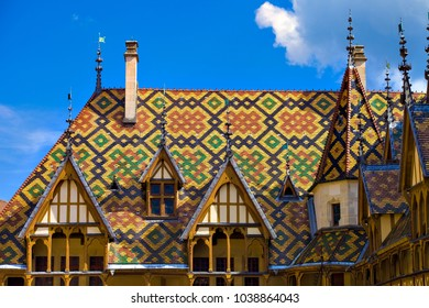 Beaune France - may 10 2016 :  Hospices of beaune