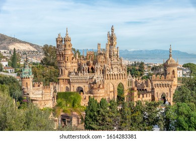 Beautieful Castle in Benalmadena Pueblo Spain