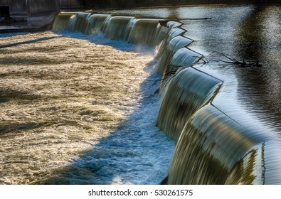 Beautification dam on the Des Moines river