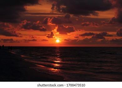 Beautifoul sunset Morze Bałtyckie See  - Shutterstock ID 1700473510