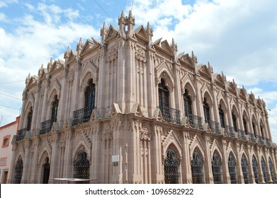 Beautiful 1500s Building in City of Jerez, Zacatecas, Mexico