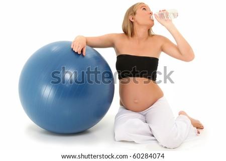 Beautiful 19 Year Old Pregnant Mothertobe Stock Photo Edit Now