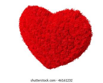 Beautiful 3D heart render