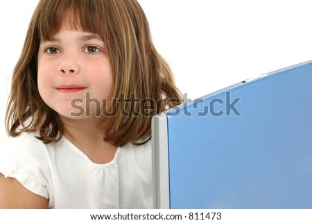 Beautiful 5 Year Old Girl Short Stock Photo Edit Now 811473