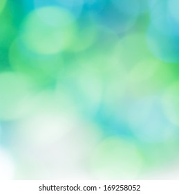 Beautiful abstract background in blue and green