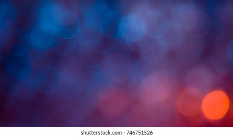 Beautiful abstract Background with bokeh lights. Wide screen Festive Texture, defocused. Can be used for design greetings cards, invitations or promotional flyers.