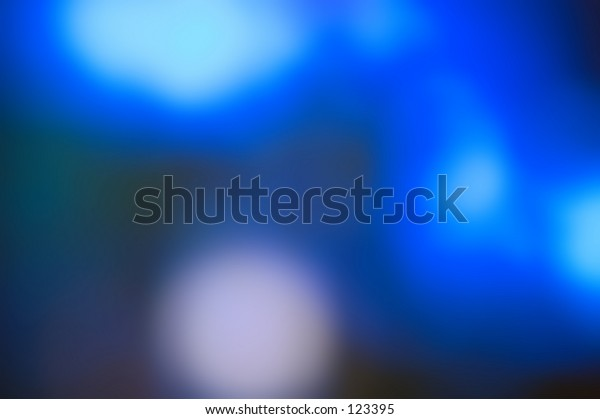 Beautiful abstract background in bright blue blurred light