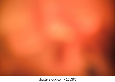Beautiful abstract background of warm blurred light.