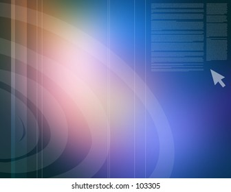 Beautiful abstract blue background