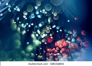 Beautiful abstract  blurred bokeh colored background pattern for design.