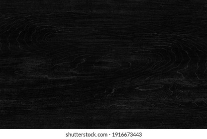 Beautiful abstract crown cut black wood texture