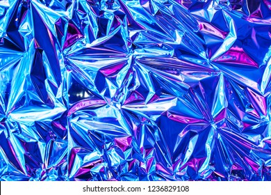 Beautiful abstract texture of the foil as background for design