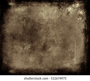 Beautiful abstract vintage grunge background, brown scratched texture