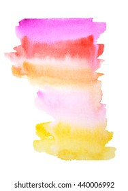 Beautiful abstract watercolor stripes for your design
