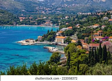 Beautiful Adriatic lagoon with turquoise water, Croatia.