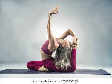 Advanced Yoga Pose Images Stock Photos Vectors Shutterstock