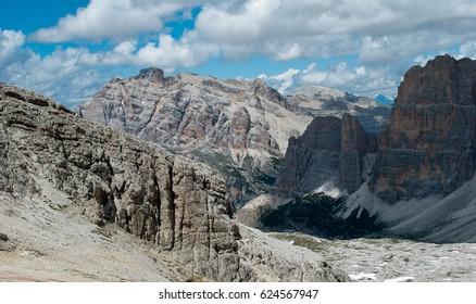 Beautiful adventure among the mountains