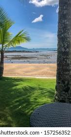 Beautiful aerial view of Playa Bonita  Panama