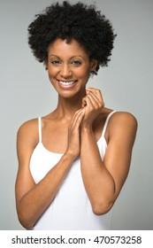 Beautiful African American Woman
