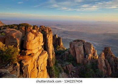 Beautiful african landscape, valley of desolation