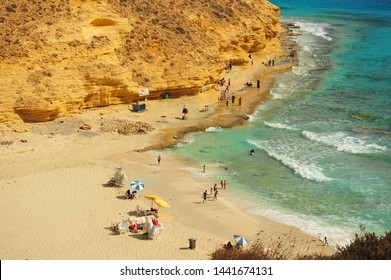 Beautiful Agiba Beach at Matrouh, Egypt