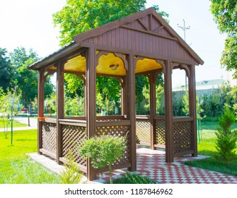 Beautiful alcove in the park