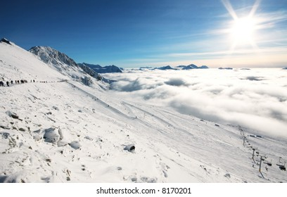 A beautiful alpine scene in Whistler, BC.