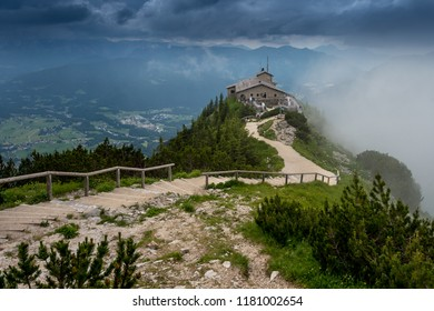Beautiful alpine view at the Kehlsteinhaus