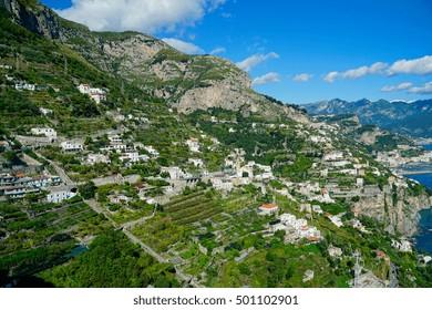 Beautiful Amalfi Coastline